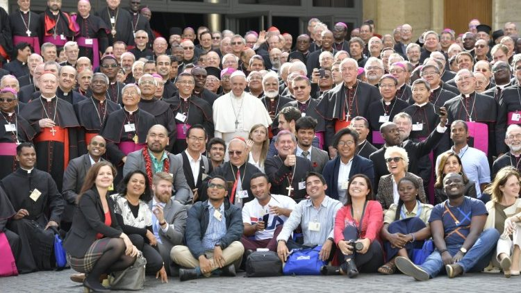 photo de groupe synod 2018